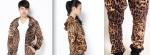 Joyrich leopard spot hoody & harem pant